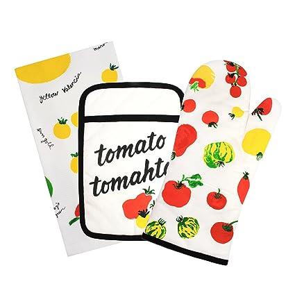 Amazon Com Kate Spade New York Tomato Tomahto 3 Piece Kitchen Set