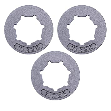 "Haishine 3Pcs / Lot Embrague Tambor Rueda Dentada .325""-7Testar STIHL MS260 MS261"