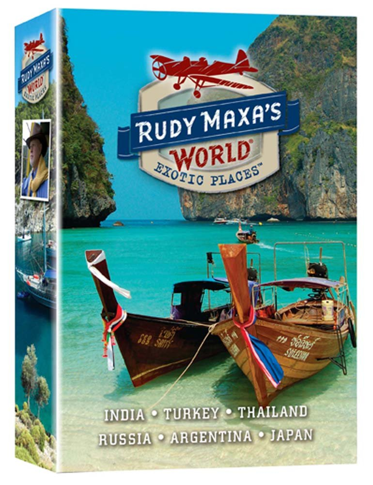 Rudy Maxa'S World: Exotic Places (6Xdvds) Various Phase 4 Movie Travel