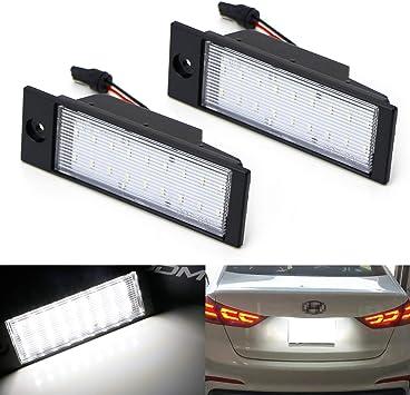 11-16 Hyundai Accent Rear Number Plate Bulbs Reg Plate Bulb Light Lights