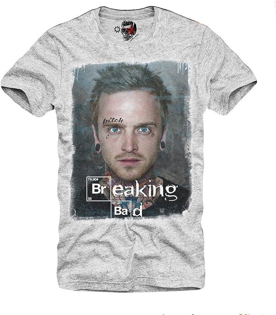 Amazon.com: E1SYNDICATE playera Breaking Bad Jesse Pinkman ...