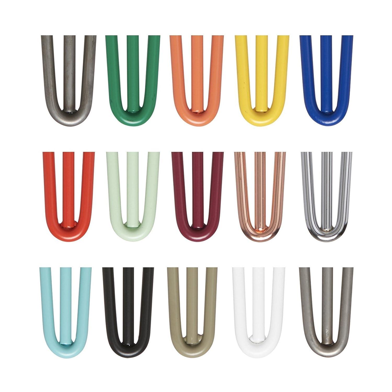 4 x Hairpin Tischbeine - alle Größen & Farben: Amazon.de: Baumarkt