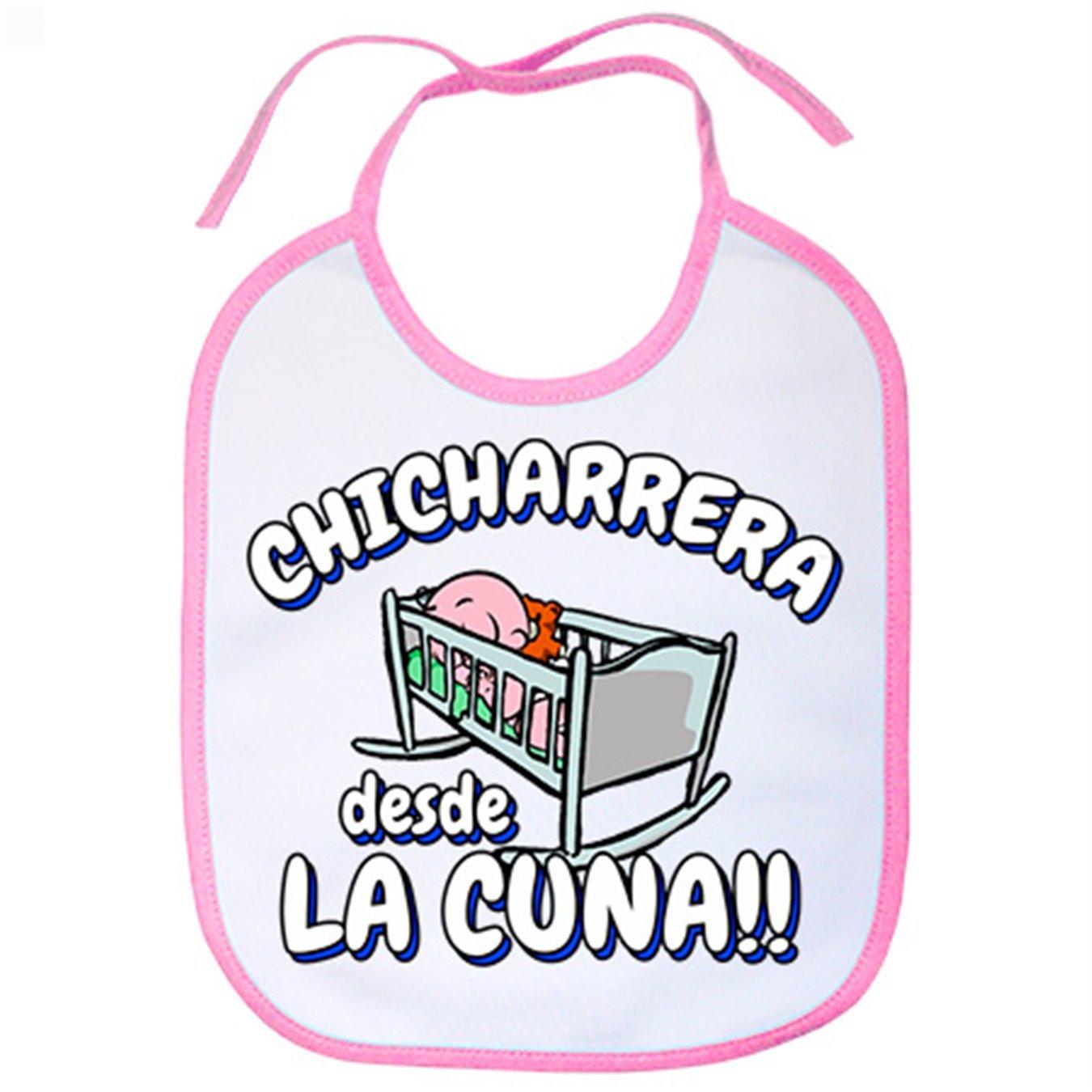 Babero Chicharrera desde la cuna Tenerife fútbol - Celeste ...