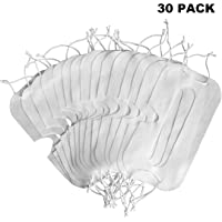 [30 Pack] VR Masque d'oeil Blanc hygiénique jetable pour Casques de réalité virtuelle pour Gear VR Oculus Rift HTC VIVE Pro pour Sony Playstation PS4 VR