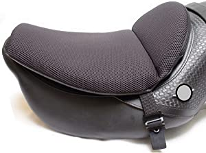 """CONFORMAX""""TOPPER EXCEL"""" ULTRA-FLEX Motorcycle Gel Seat Cushion- Extra Large-AIRMAX (18x14x6)"""