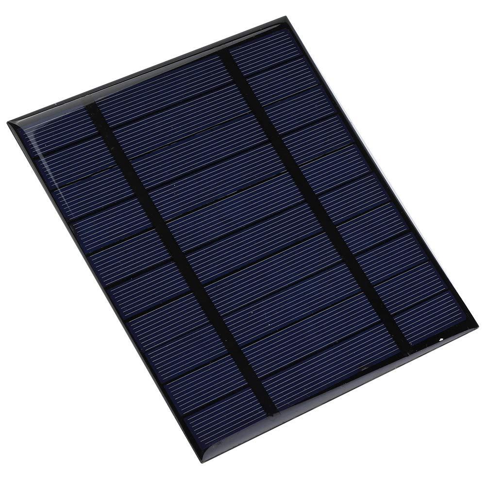 Alomejor Solar Panel Charger 2.5W Portable Wasserdichte Faltbare Solar Power Bank USB Ports f/ür Smartphones Tablets Camping Reisen