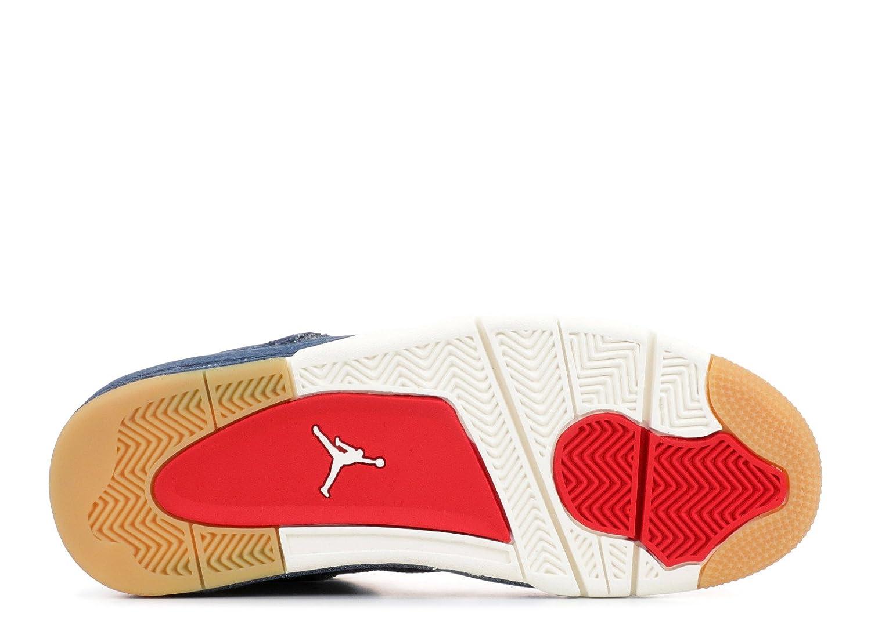 newest 82796 531c8 Jordan Air 4 Retro Levis Nrg, Scarpe da Fitness Uomo, Denim-Sail-Gam 401,  47.5 EU  Amazon.it  Scarpe e borse