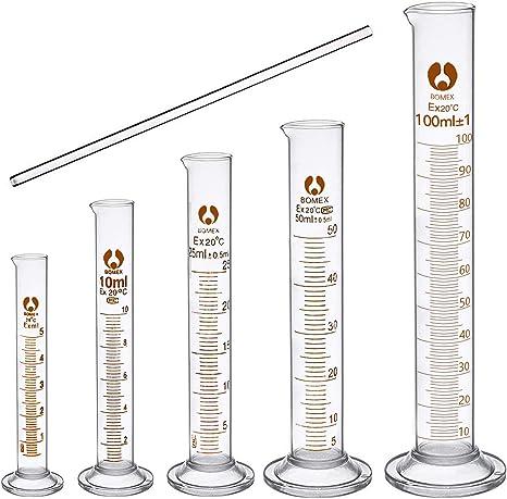 1 Teqler Glass Measuring Cylinder 500 ml
