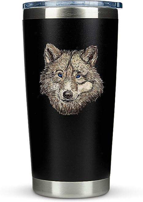Wolf Themed Tumbler