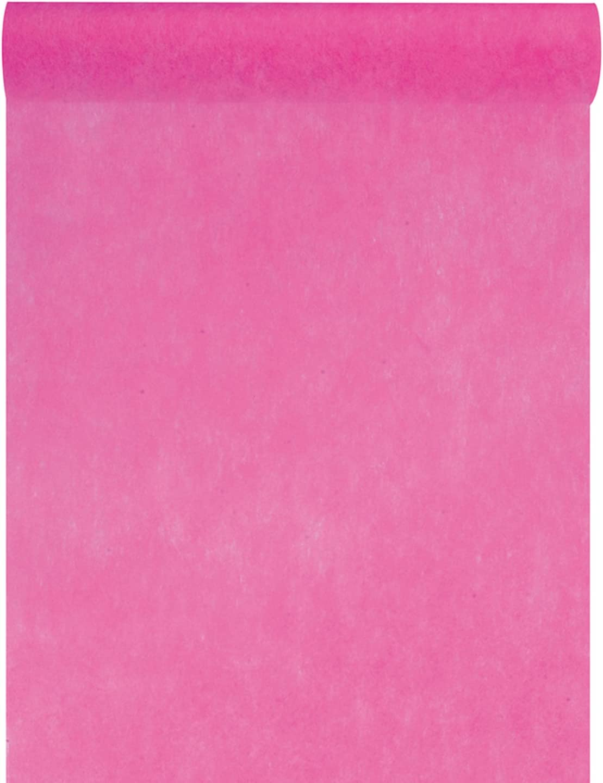 Camino de mesa Santex de fieltro, 0,3 x 10 m rosa: Amazon.es: Hogar