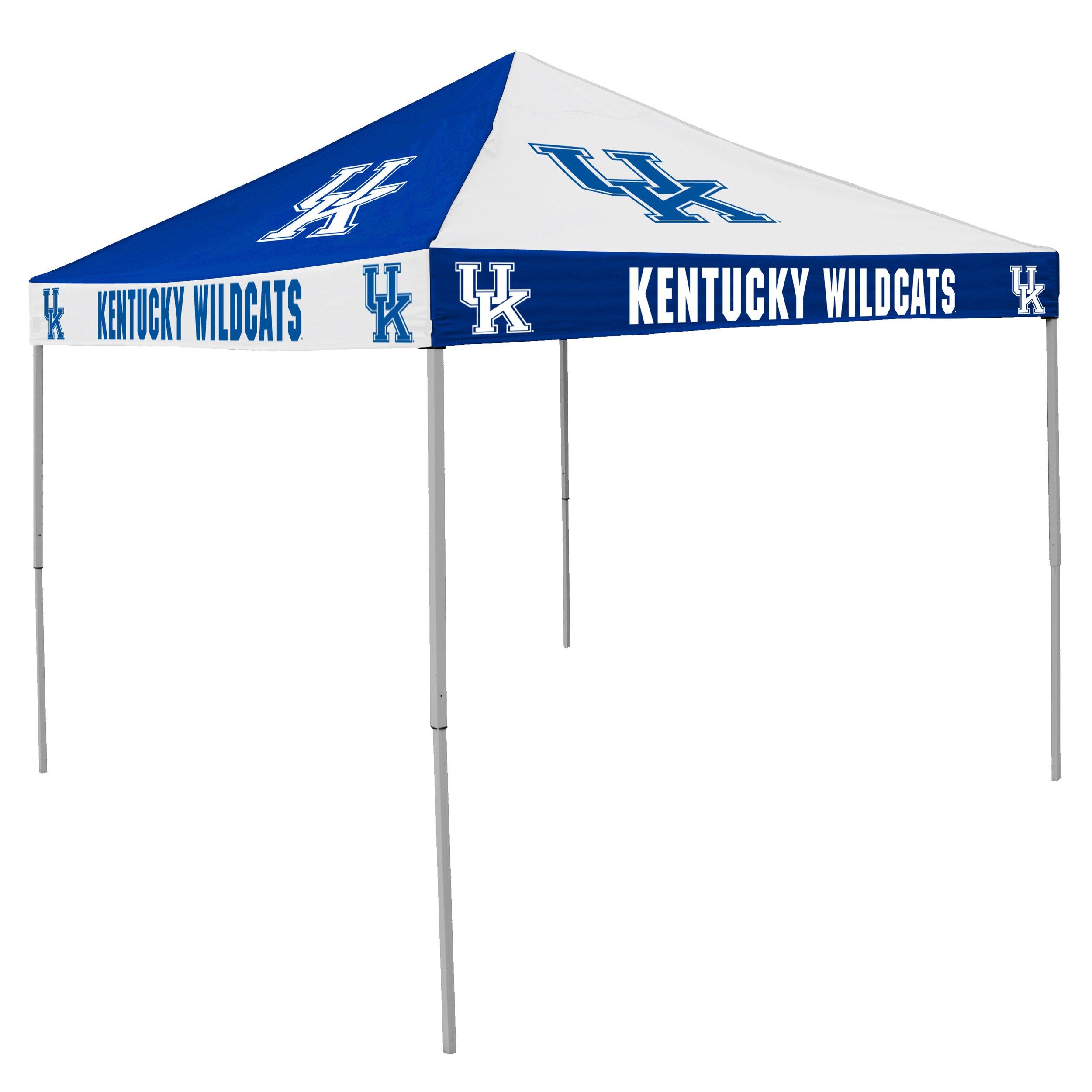 NCAA Kentucky Wildcats 9-Foot x 9-Foot Pinwheel Tailgating Canopy, Blue/White