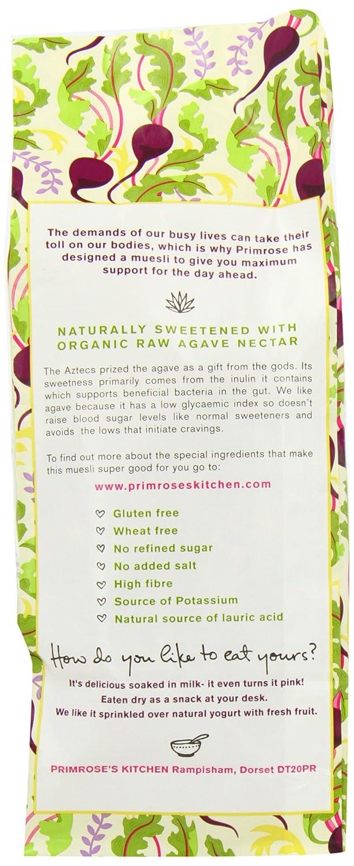 Primroses Kitchen Muesli de Avena Sin Gluten con Remolacha - 400 gr [Pack de 2]: Amazon.es: Alimentación y bebidas