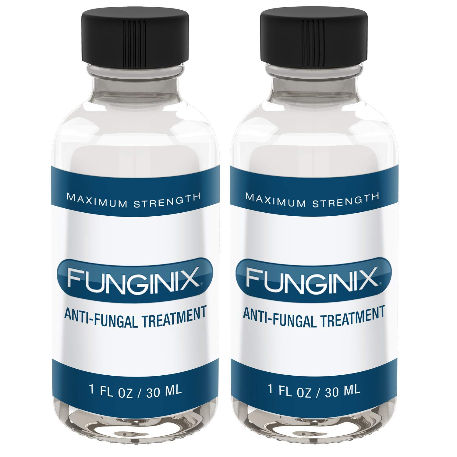 FUNGINIX Finger and Toe Fungus Treatment - Maximum Strength Anti-Fungal Solution, Eliminate Fungal Infections, Powerful & Effective (2 Bottles) by FUNGINIX