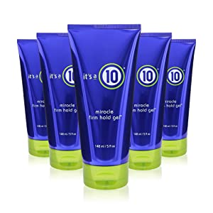 it's a 10 Miracle Firm Hold Gel 5 oz (Pack of 5)