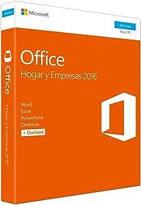 Microsoft Office Hogar y Empresas 2016 T5D-02899, 1