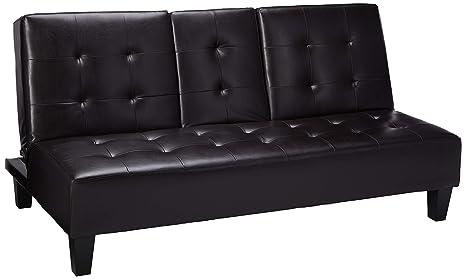 Amazon.com: hodedah Importación sofá cama con almacenamiento ...