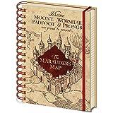 【予約商品】 HARRY POTTER ハリーポッター - The Marauders Map/ノート 【公式/オフィシャル】