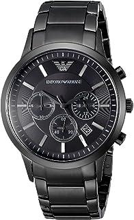 Emporio Armani AR2453, orologio al quarzo, da uomo, con cronografo,  quadrante di db652b9a61