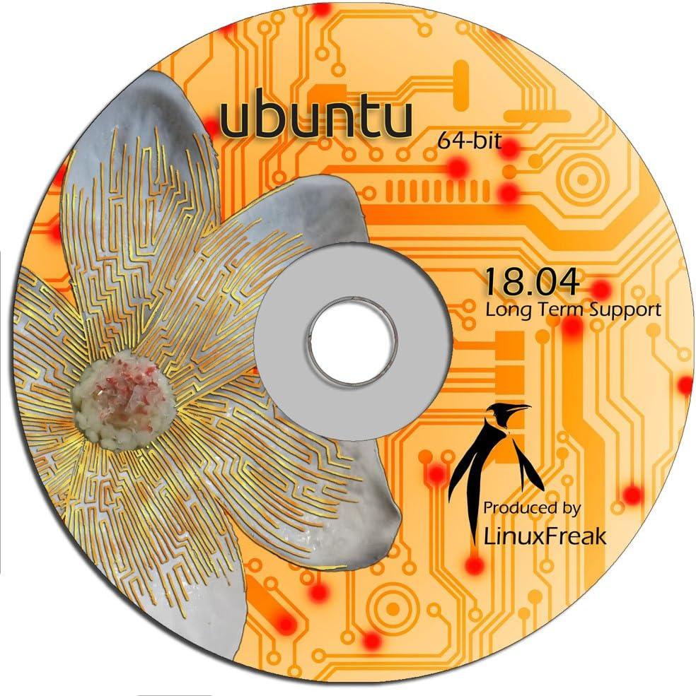 Ubuntu Linux 18.04 DVD - OFFICIAL 64-bit release - Long Term Support