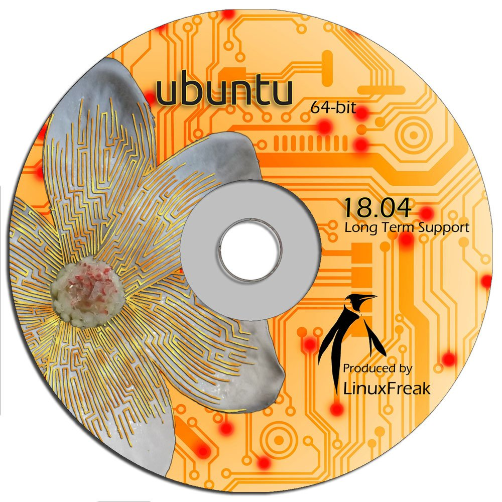 Ubuntu Linux 18.04 DVD - OFFICIAL 64-bit release - Long Term Support by LinuxFreak