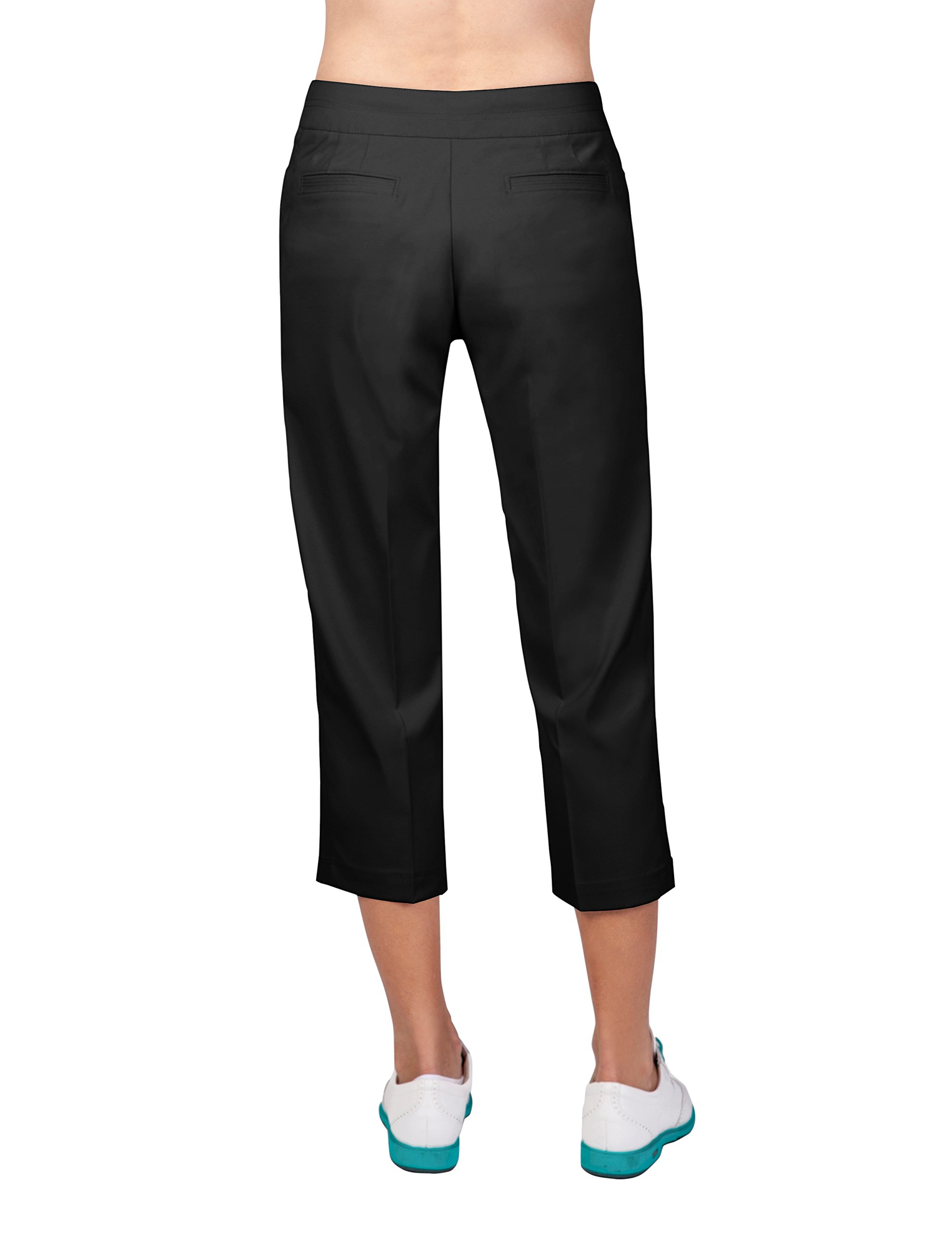 Tail Activewear Women's Classic Capri 6 Black by Tail (Image #2)