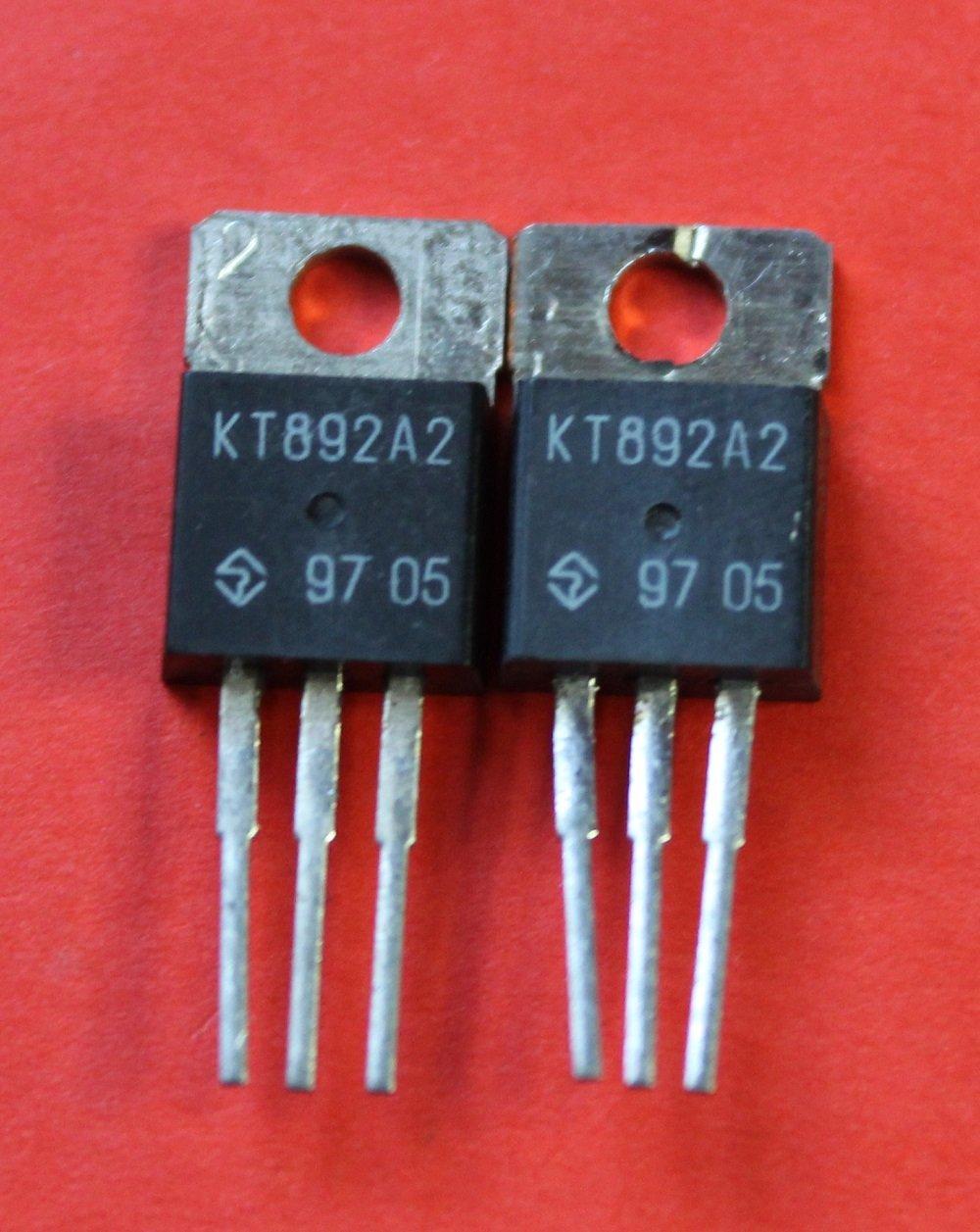S.U.R. & R Tools Transistors silicon KT892A2 analoge MI10004PF1, TIP661 USSR 2 pcs by S.U.R. & R Tools (Image #1)