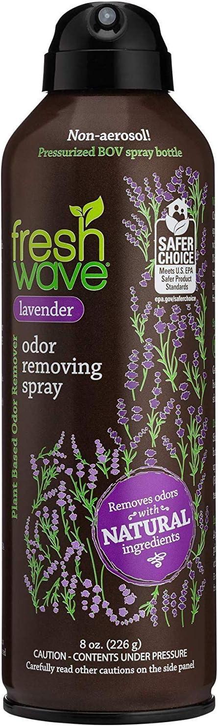 Fresh Wave Lavender Odor Eliminator Spray & Air Freshener, Non-Aerosol, Fine Mist, 8 oz.