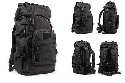 Mens Military Tactical Backpack Rucksacks Large Capacity Camping Hiking Bag UK