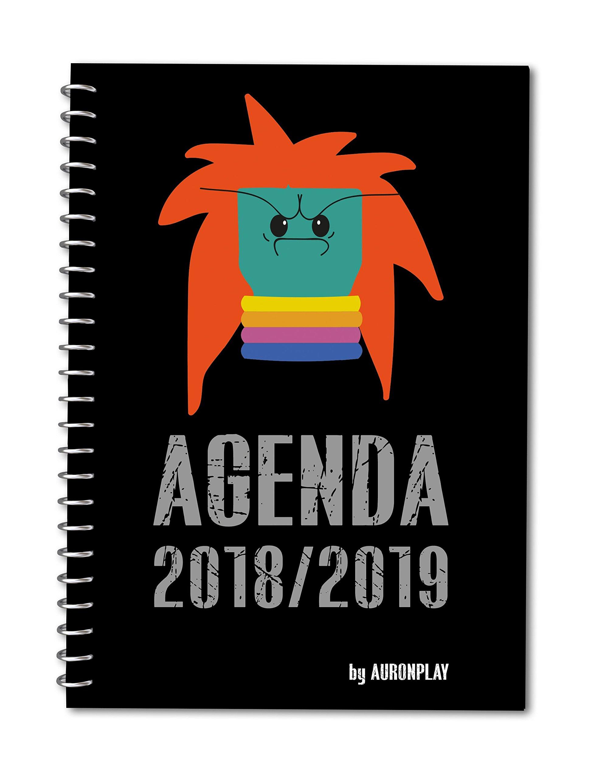 Agenda Auronplay, 2018-2019: Auronplay: 9788417166311 ...