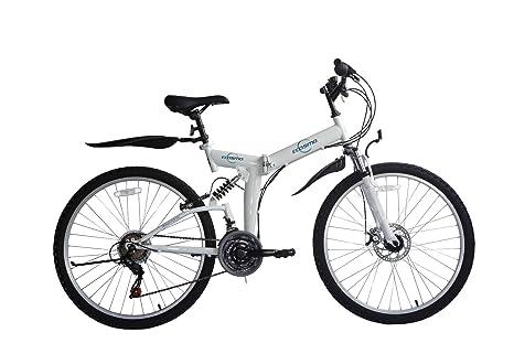 Bicicleta de montaña para mujer, Ecosmo 21SP Shimano - 26SF02BL ...