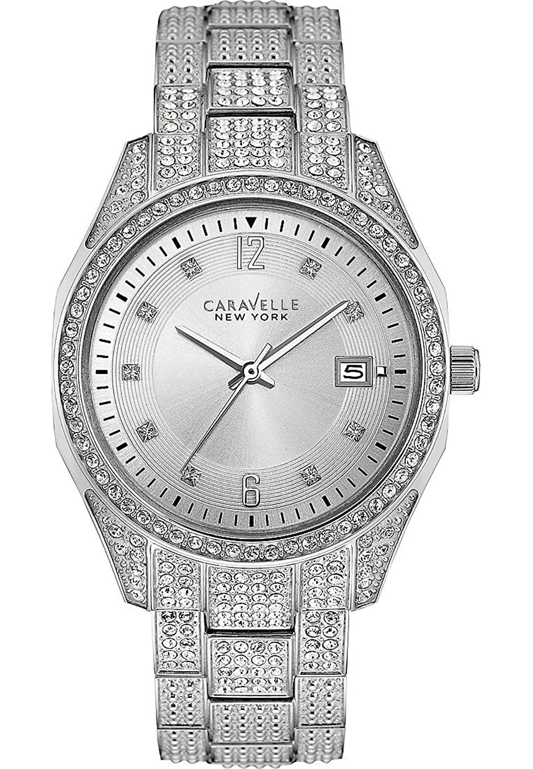 Caravelle New York Boyfriend Damenuhr 43M112