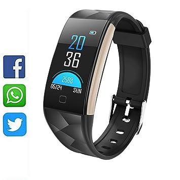 Pulsera de Actividad Inteligente Orologio Fitness Activity Tracker Cardio Impermeabile IP67 Smartwatch Cardiofrequenzimetro da Polso Contapassi ...