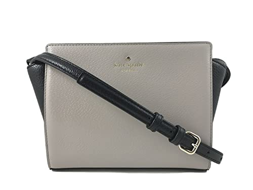 6c52d7793 Kate Spade Hayden Grand Street Colorblock Leather Crossbody Bag in Mousse  Frosting/Black