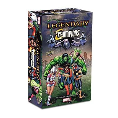 Legendary: A Marvel Deck Building Game: Legendary Champions Expansion: Toys & Games