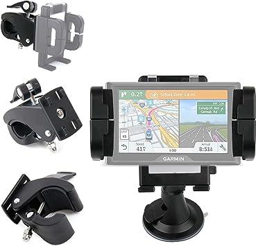 DURAGADGET Soporte + Base Clip para Manillar De Bicicleta para GPS ...