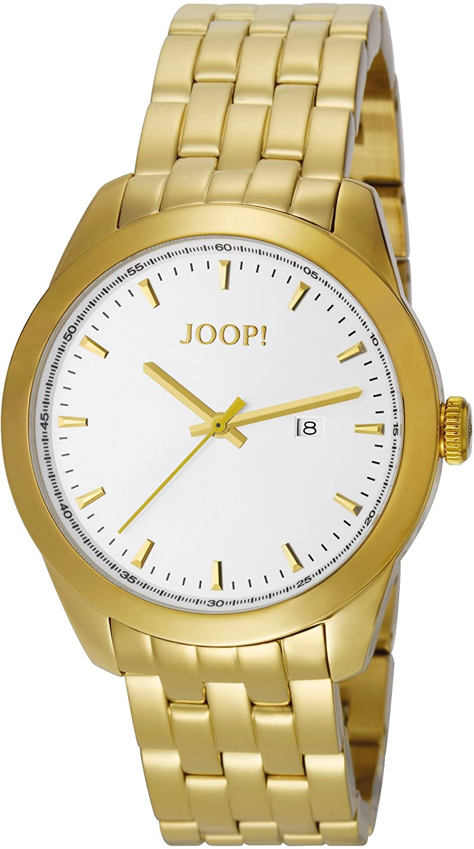 Joop Herren-Armbanduhr XL Essential Analog Quarz Edelstahl JP100801F02