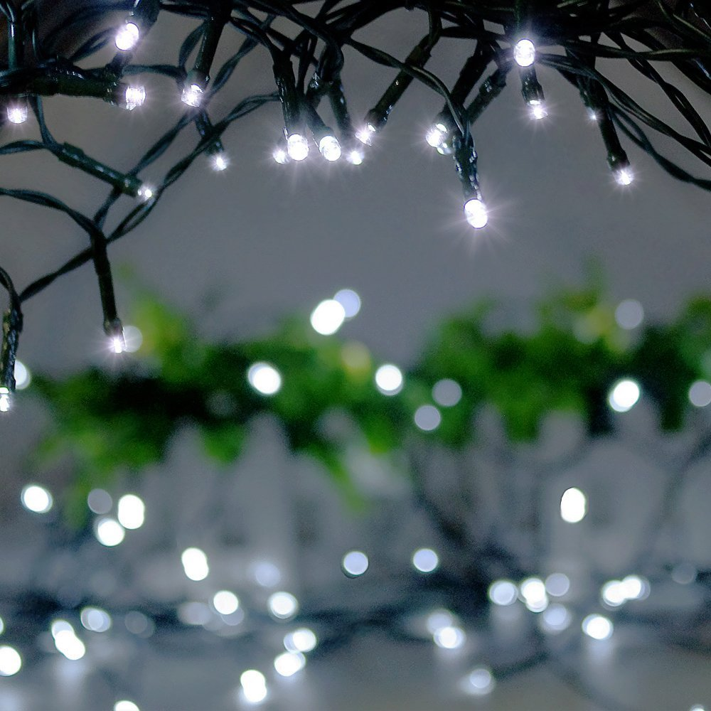 Frostfire moonzazzle 100 led solar fairy string lights amazon frostfire moonzazzle 100 led solar fairy string lights amazon garden outdoors mozeypictures Image collections