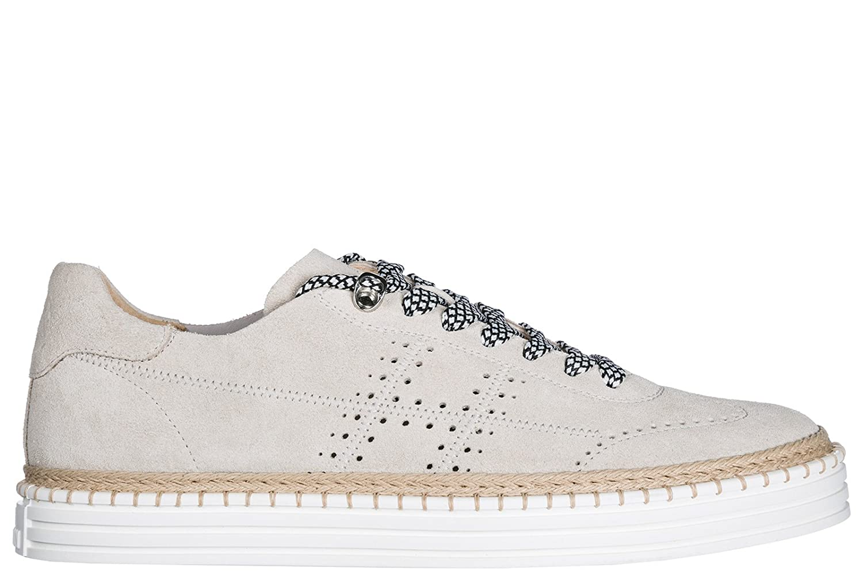 Hogan Zapatos Zapatillas de Deporte Hombres R260 Beige 41.5 EU