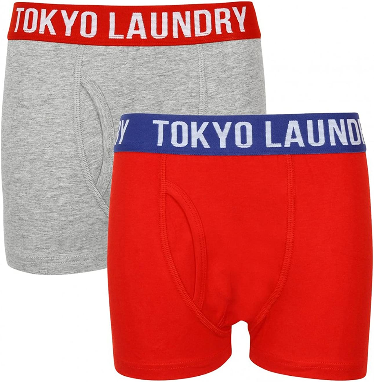Tokyo Laundry Boys Alton 2 Pack Boxer Shorts Underwear