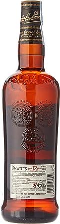 DEWARS whisky reserva 12 años botella 70 cl