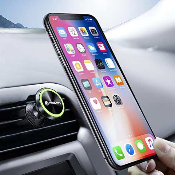 Cellphones & Telecommunications New Fashion Universal Car Phone Holder Steering Clip Desk Phone Holder Mini Holder For Mount Phone Luminous Magnetic Phone Mount Holder #11 To Be Distributed All Over The World