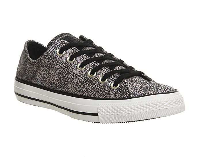 Converse Chucks Chuck Taylor All Star Low Top Sneaker Damen Herren Unisex Grau Kombi