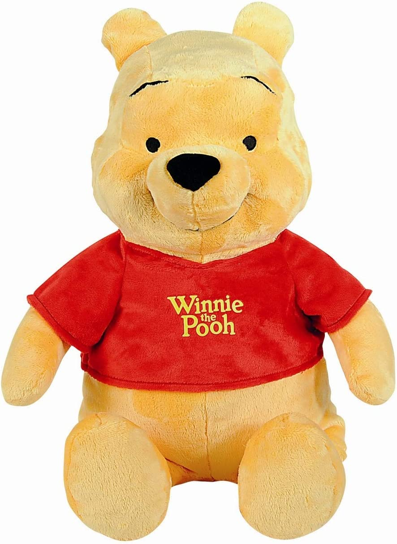 Disney-6315872658 Winnie The Pooh Peluche 61cm, Multicolor (Simba 6315872658)