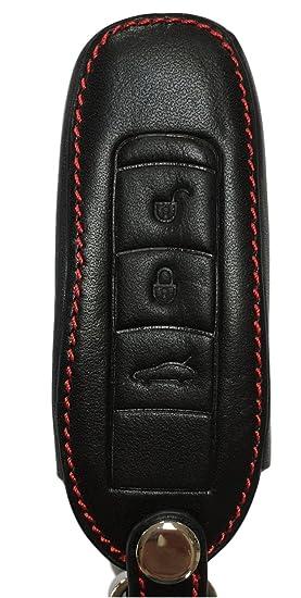 Bolsa de llaves – Piel Auténtica para Porsche 911 991 carrera Boxster 981 718 982 Cayman