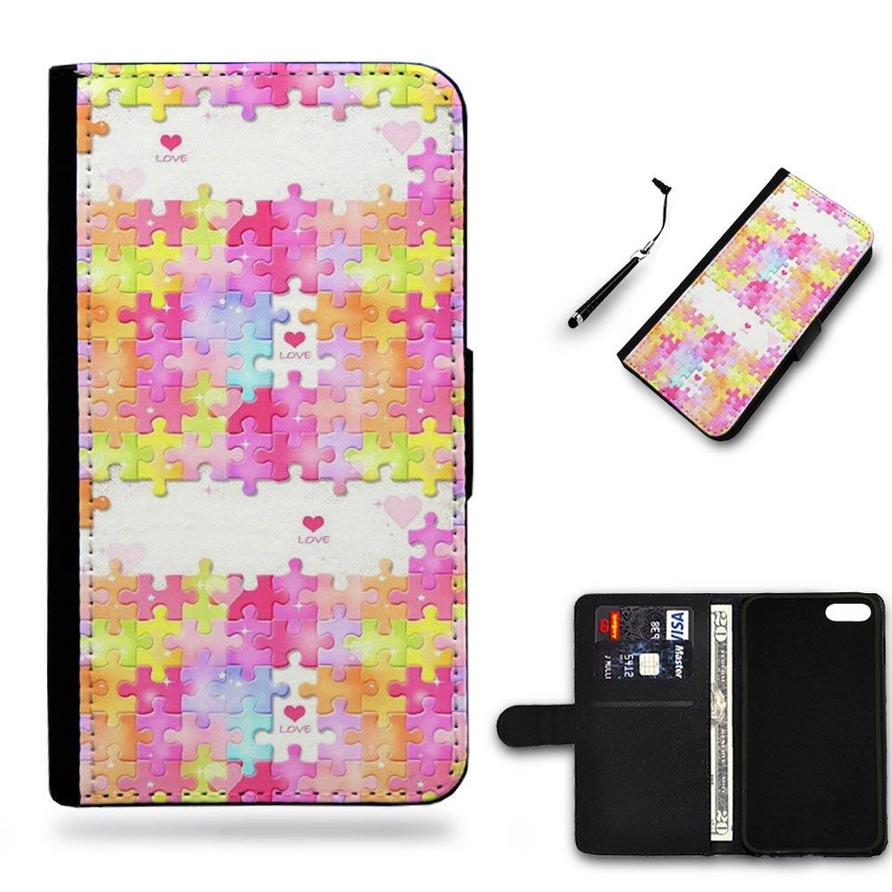 Four Puzzle Pieces I Phone Cases