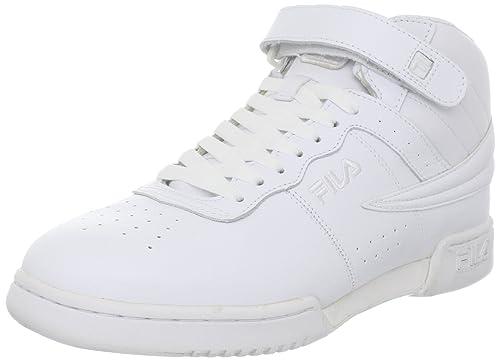 Fila - Zapatillas de deporte de cuero para hombre Blanco blanco 8 UK: Amazon.es: Zapatos y complementos