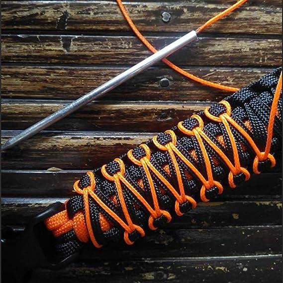 Paracord Schn/ürnadeln Paracord Werkzeuge und Zubeh/ör aus Edelstahl f/ür das Weben von Armb/ändern und Leder 6er Pack Paracord Stitching Needles Set