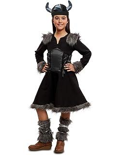 Horror-Shop Pequeño Disfraz Infantil Vikingo con Casco De Trompa S ...