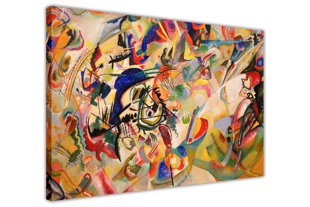 COMPOSITION VII BY WASSILY KANDINSKY CANVAS WALL ART PICTURES ROOM DECORATION PRINTS Canvas It Up