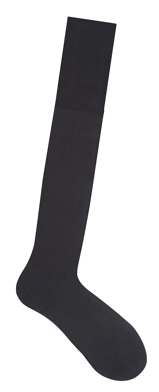 Fine Cotton Lisle Knee Socks